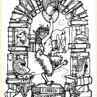 This is my own Bookplate.