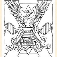 Ex Libris with DNA