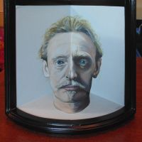 Anamorphic Self Portrait