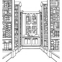 Trinity College Library, Bookplate