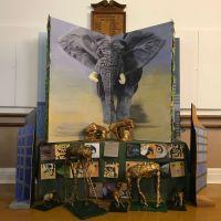 Final display: Artspiration School of Drawing and Painting, David Shepherd Award 2018