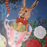 Wonderland Mural, Surrey 2019